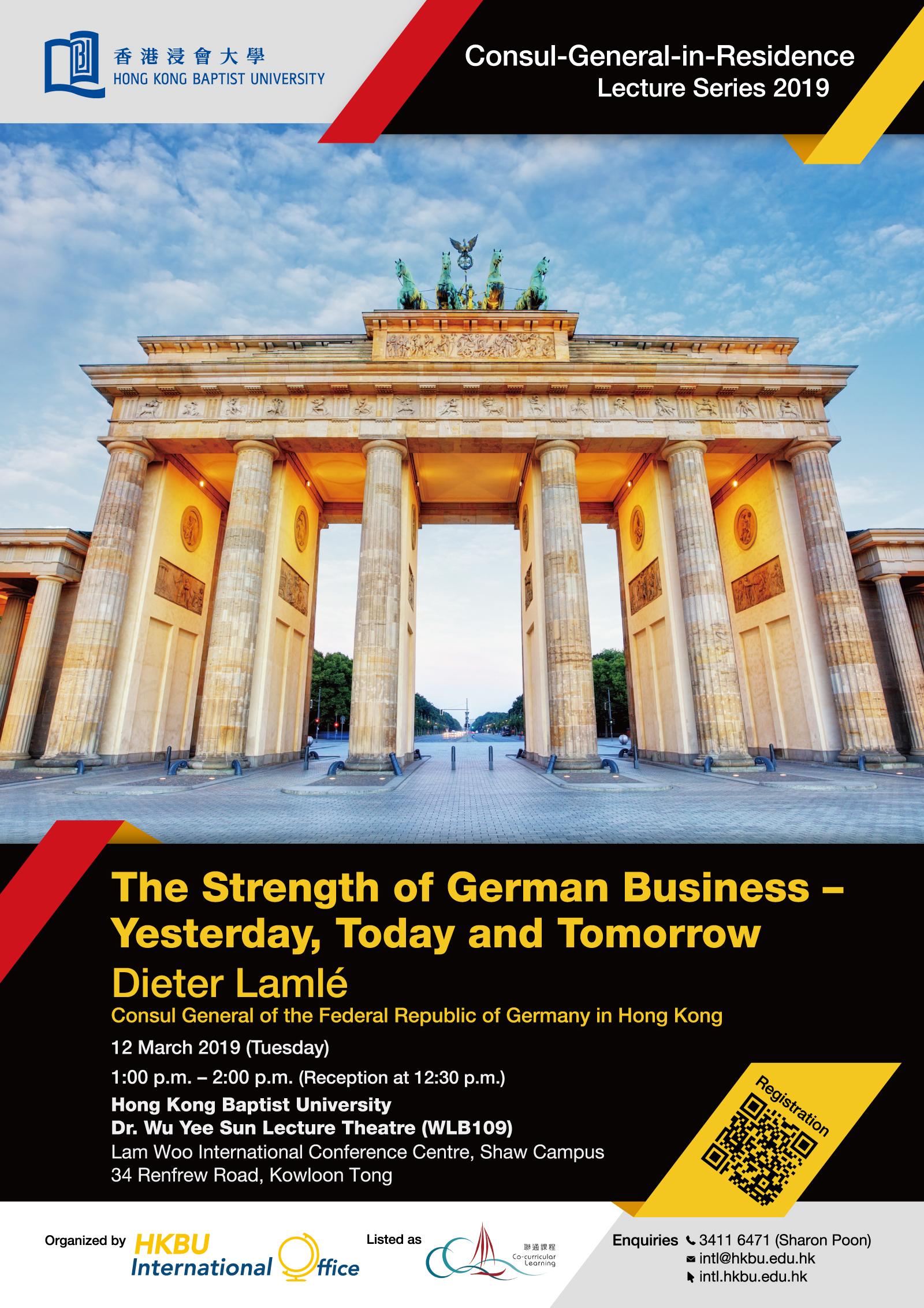 The Strength of German Business - Yesterday, Today and Tomorrow
